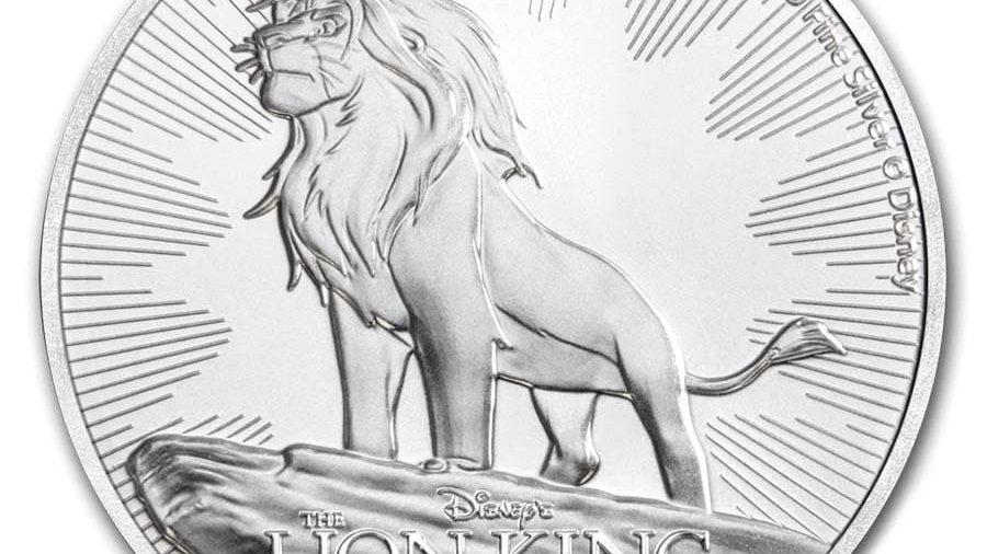 2019 Niue 1 oz Silver $2 Disney Lion King 25th Anniversary BU