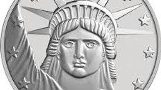 2020 1 oz SilverTowne Lady Liberty Silver Round (New) .999 Fine Silver