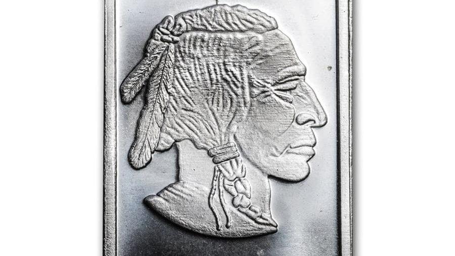 2020 1 oz Silver Bar - Buffalo .999 Fine Silver New Shape