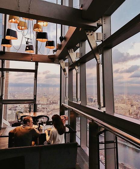 ресторан в Москва Сити