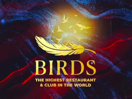 Ресторан ночной клуб Москва Сити Birds самый высокий ночной клуб в Мире анонс мероприятия
