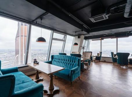 Кальянная в Москва Сити Высота 57 на 57 этаже башня Империя