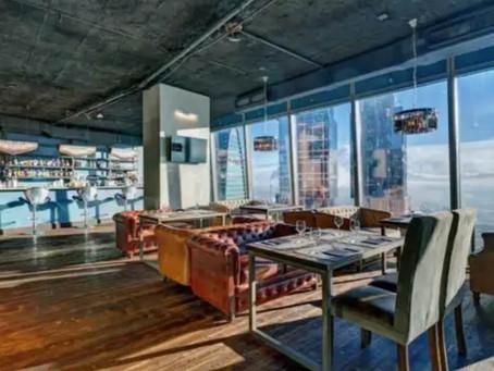 Кальянная Ресторан и полноценный Бар Авиатор в Москва Сити на 52 этаже с Vip Залом на 20 человек