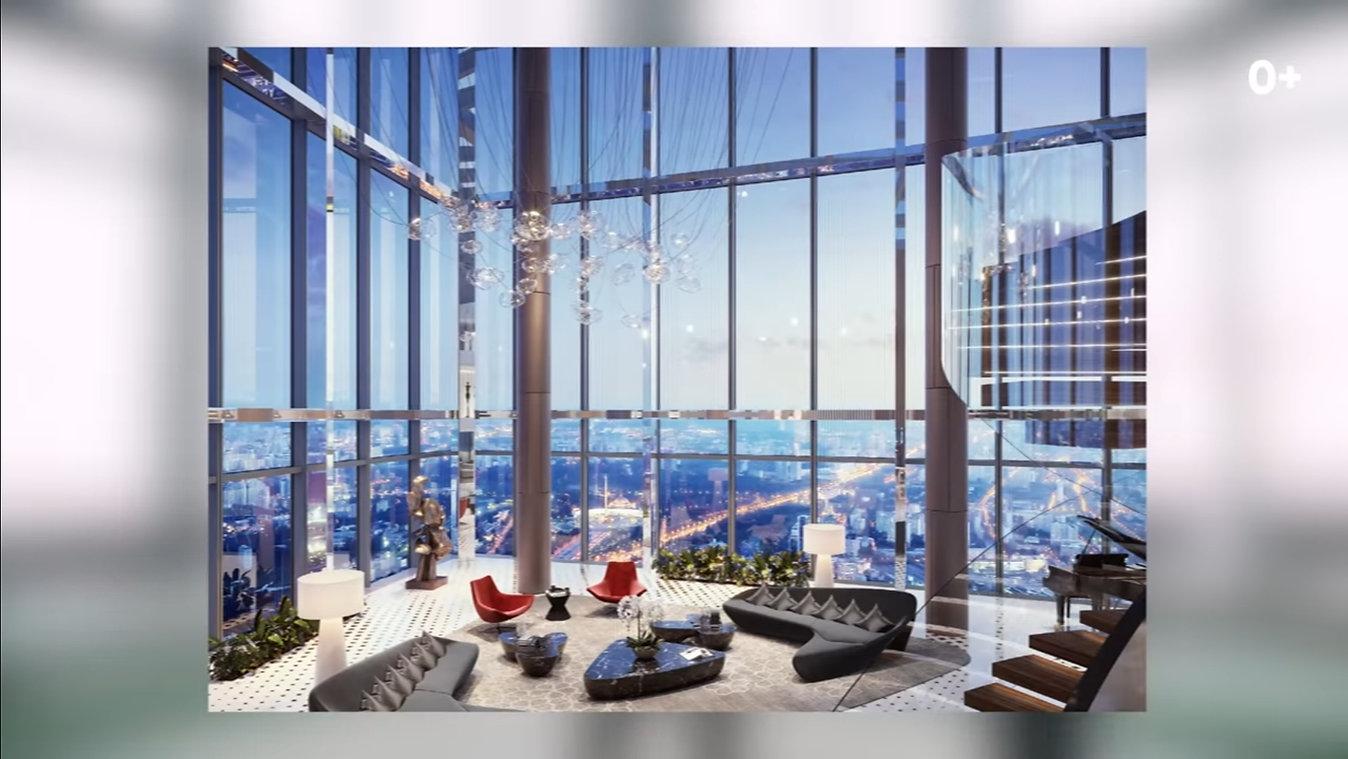 Москва Сити 95 этаж рестоан бар кальянна