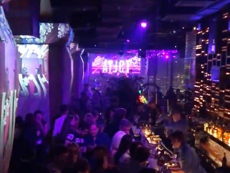 Birds открытие нового ресторана ночной клуб в Москва Сити на 84 этаже
