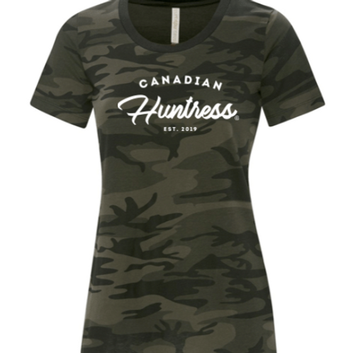 CANADIAN HUNTRESS® CAMO T-SHIRT