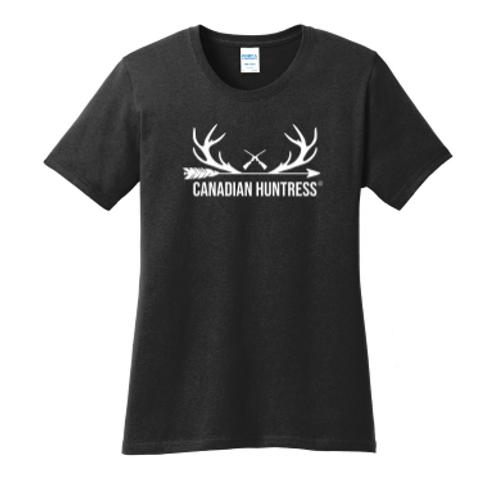 Canadian Huntress® Antlers T-shirt