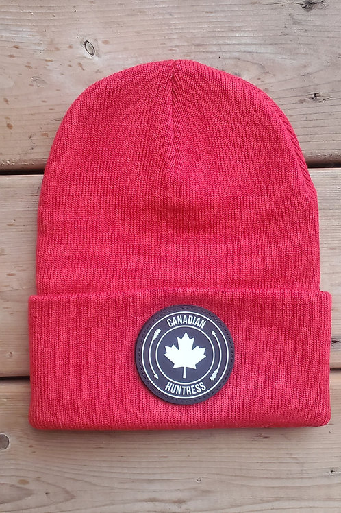 RED CANADIAN HUNTRESS® TOQUE