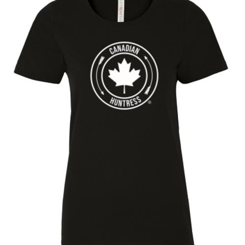 Black Canadian Huntress® Maple Leaf