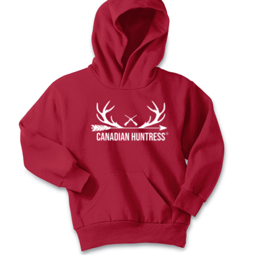 Canadian Huntress® Youth Antlers Hoodie