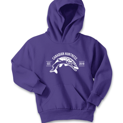 Canadian Huntress® Youth Angler Edition Hoodie