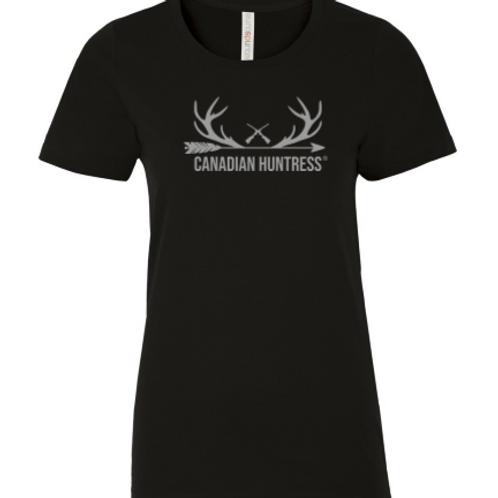 Antler T-shirt- Classic Black