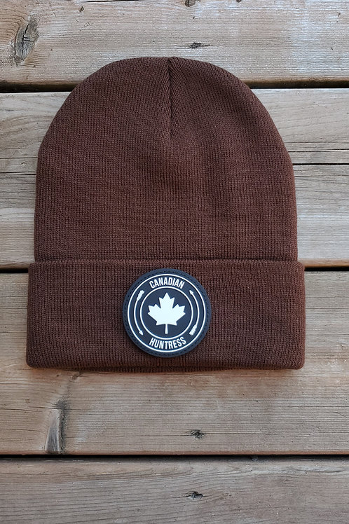 CANADIAN HUNTRESS® BROWN TOQUE