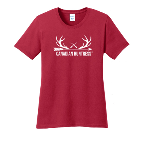 CANADIAN HUNTRESS® ANTLER T-SHIRT