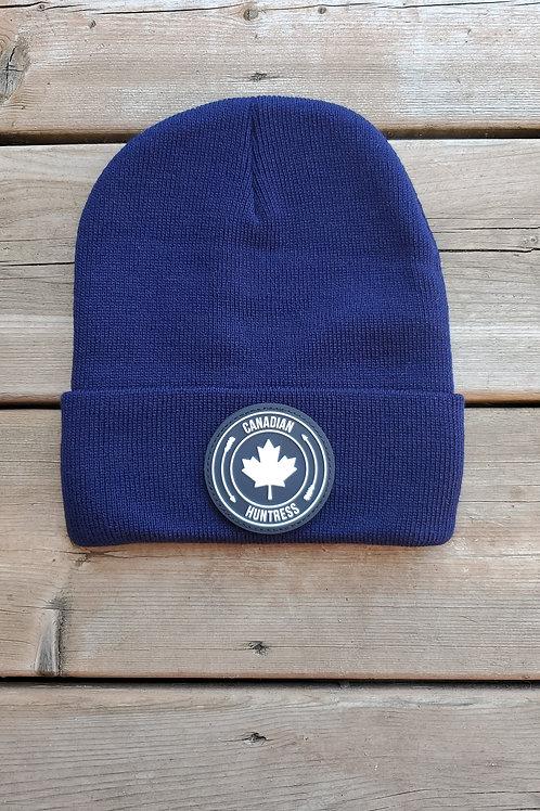 CANADIAN HUNTRESS® NAVY TOQUE