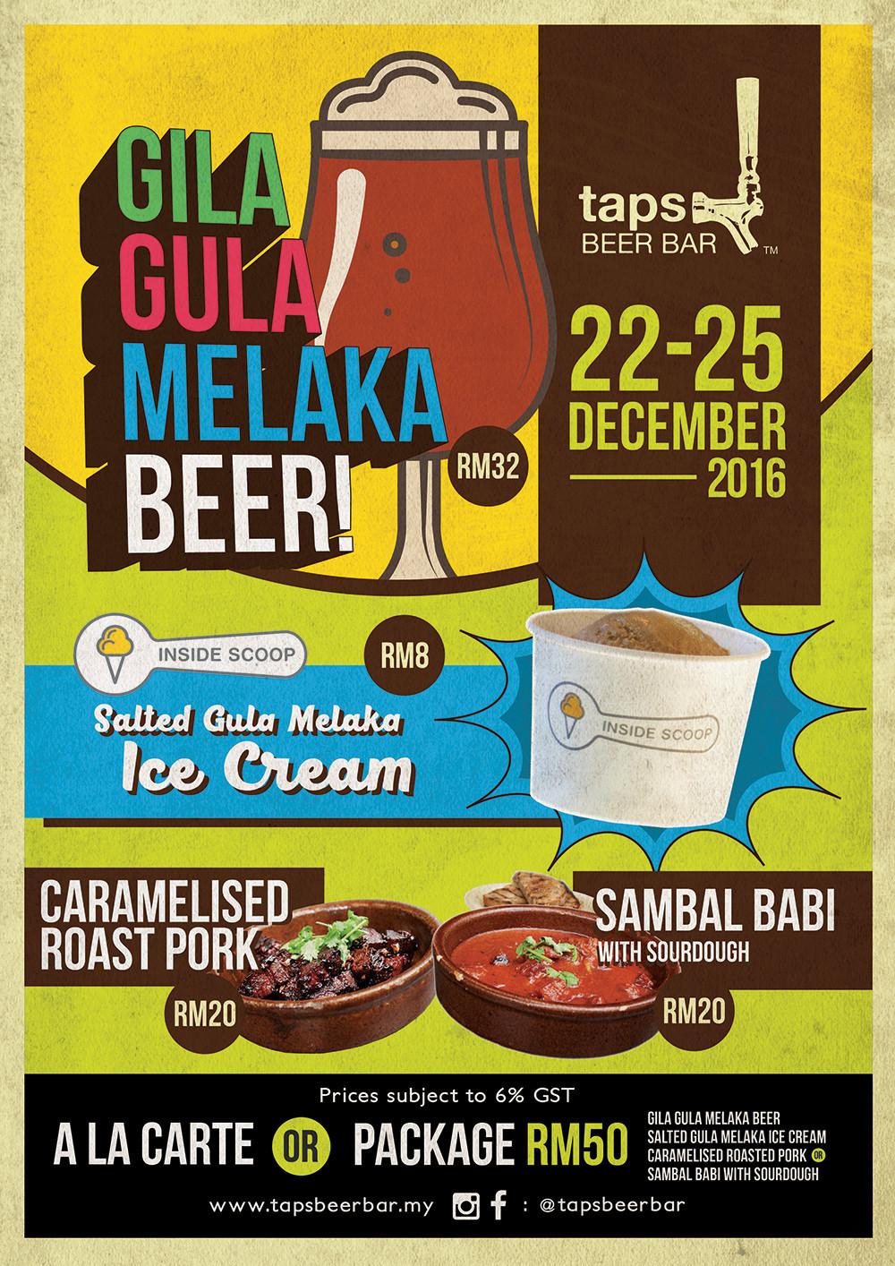 Gila Gula Melaka Beer