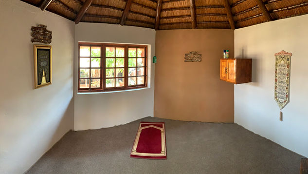 Group/Family Lodge: Inside of Salaah/Prayer Room