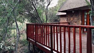 Group/Family Lodge: Balcony