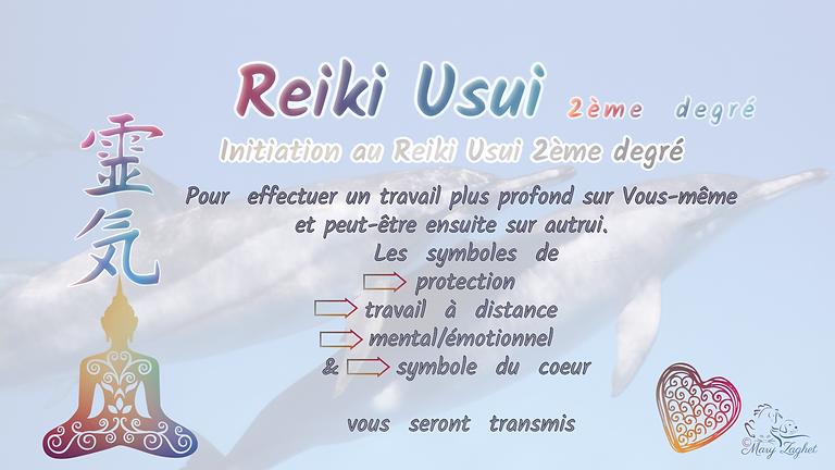 Initiation Reiki 2ème degré