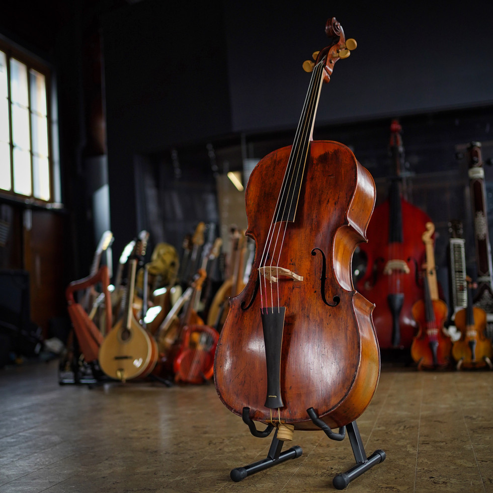 Our one of a kind 1780 black forest Baroque Cello