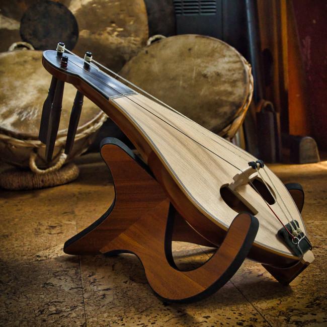 A custom handmade Classical Kemenche