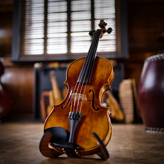 One of the many violins used for our Trio recordings