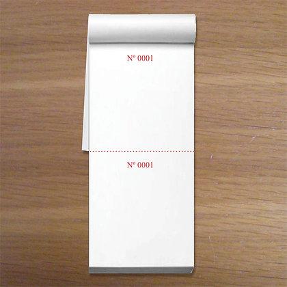 DUPLO-CORPO - 1 caixa com 50 blocos 5x14cm Numeradas