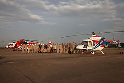 Demonstration Tour of Ansat and Mi-171A2 Helicopters Begins in Southeast Asia  Moscow / November 14, 2018  Potential customers from Vietnam, Cambodia, Thailand and Malaysia can learn about functionality of brand new Мi-171A2 and Ansat helicopters during their demonstration tour through Southeast Asia.