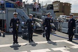Un marin natif de Blois prend le commandement du patrouilleur de la Marine nationale Flamant,  à Cherbourg (50)