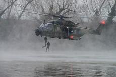 La Direction générale de l'armement prépare le développement du futur hélicoptère NH90 des Forces Spéciales