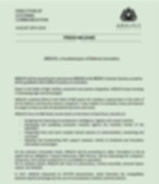 1 Press Release ARQUUS AT THE MEDEF SUMM