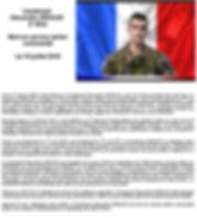 LIEUTENANT ALEXANDRE ARNAUDMORT EN SERVICE AÉRIEN COMMANDÉ