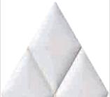 BP0025 ALFA-BLANCO 28x32.5 Плитка ромб.