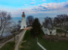 Marblehead Lighthouse Drone Picture