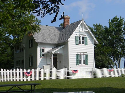 Entrance to the Keeper's House Museum