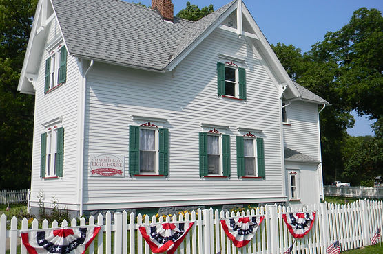 Exterior of the Keeper's House Museum