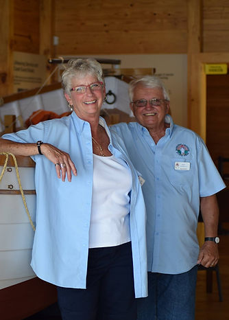 Volunteers in the Lifesaving Station