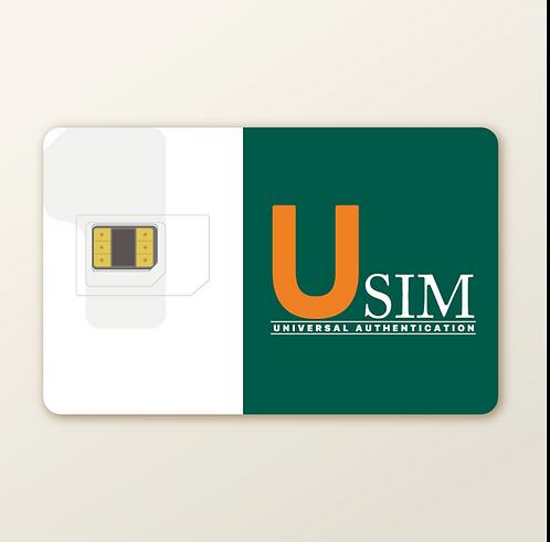 USIM FLEX, CBRS Test SIM, High Capacity Profile, Overlay Format