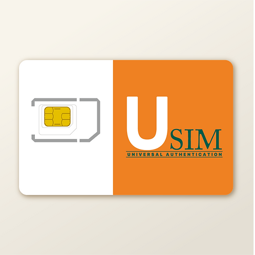 USIM PRO CBRS Test SIM, High Capacity Profile Plastic SIM