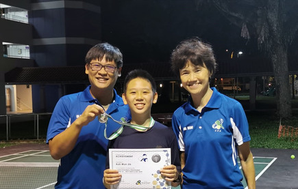 Captain of Jurong Spring Kids Club – Koh Wun Jin