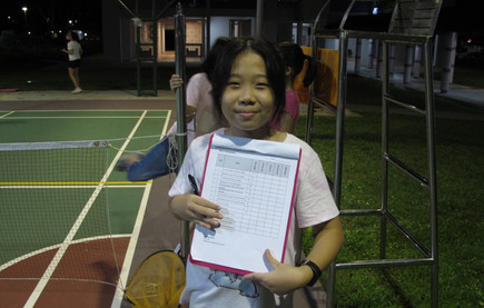 Koh Wun Qi, Coach's little assistant during Skill Assessment