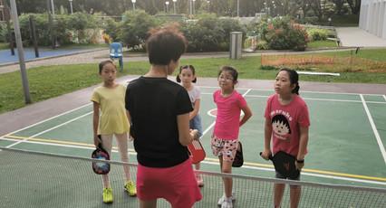 Full Attention!  From left:  Liang Jingyi, Wu Youran, Lin Ziqing and Koh Wun Qi