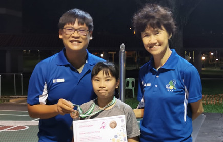 Esther said Pickleball is more fun because the Coaches are friendlier.  Coach Fong Meng said, so we should be more fierce then.