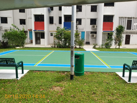 Marked Courts at Macpherson!!