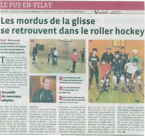 2013.02.01 Le Progres Hockey.jpg