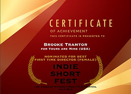 Yours are Mine __ Indie Short Fest (NOM)