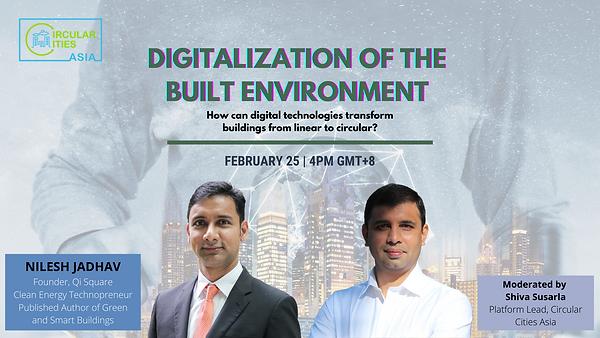 FB Digitalization of the Built Environme