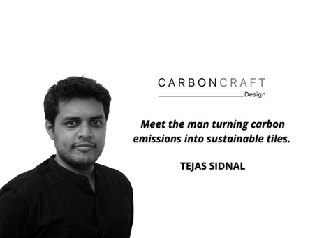 Spotlight: Carbon Craft Design - Turning Carbon Emissions into Sustainable Tiles