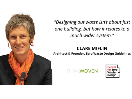 Spotlight: Clare Miflin - Designing Out Waste in Buildings