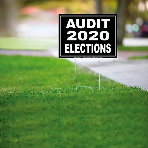 Yard Sign Audit 2020 Elections